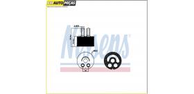 Radiador de óleo, óleo do motor Renault, Nissan, Opel