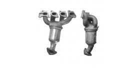 Catalisador - OPEL Agila / Corsa C / Astra G / H - 1.2 / 1.4 16V - 24434791