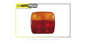 Farolim Traseiro Amarelo / Vermelho com Luz de Matrícula
