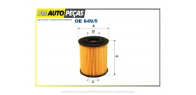AC6215E Filtro de óleo BMW