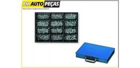 Conjunto de 300 Copos de Lubrificação com Caixa Metalica - BERNER - BS3069