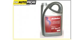 Oleo ATF Type III ACDelco - 5LT