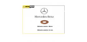 Anilha de Injector Mercedes CDI - 523781 / Mercedes-Benz