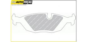 Jogo de Pastilhas Travão - FERODO FDB296 BMW