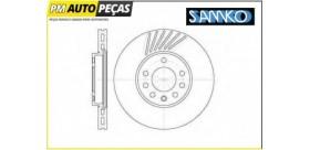 Disco de Travão Ventilado - OPEL / SAAB / VW - SAMKO O1321V