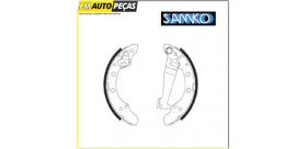 Jogo de Maxilas de Travão AUDI / SEAT / VW - SAMKO 85730