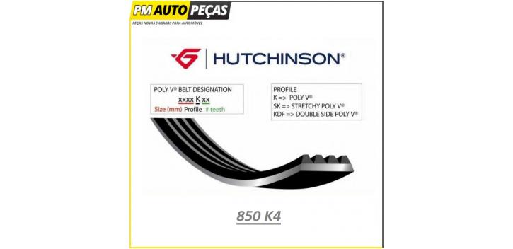Correia Poly V HUTCHINSON - 850 K4 - 850mm