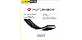 Correia Poly V HUTCHINSON - 1146 K5 - 1146mm