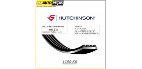 Correia Poly V HUTCHINSON - 1190 K6 - 1190mm