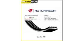 Correia Poly V HUTCHINSON - 1190 K6 - 1190mm