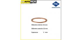 02001 Anilha de bujão do cárter - Metalcaucho