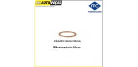 02002 - Anilha de bujão do cárter - Metalcaucho