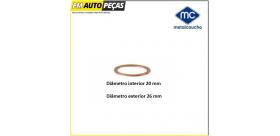 02004 Anilha de bujão do cárter - Metalcaucho