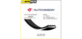 CORREIA POLY V HUTCHINSON - 1120 K5 - 1120mm