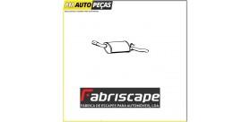 Panela de escape traseira Opel Corsa 1.0/2/4, SAI+DRT 89-93