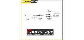 Panela de escape traseira Astra S/MAL. 1.4/7TD/2.0I 91/93