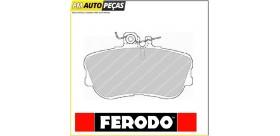 Jogo de Pastilhas Travão - FERODO FDB854